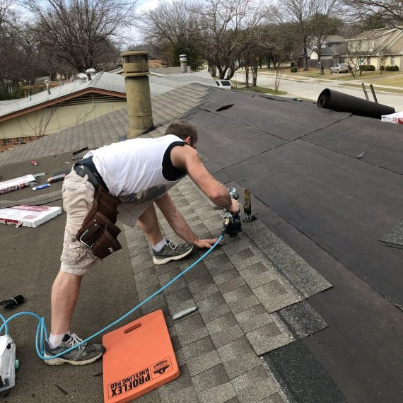 severe weather damage roof restoration