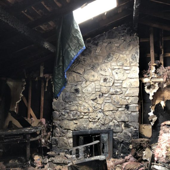 severe fire damage home resoration