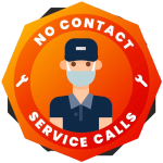 no contact service calls, COVID-19 procedure